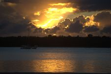 Sunrise Gold Coast Australia Stock Photos