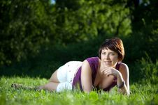 Free Pretty Smilling Woman Royalty Free Stock Image - 9688976