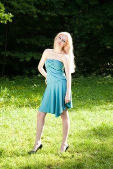 Free Blond Woman Portrait Royalty Free Stock Image - 9688986