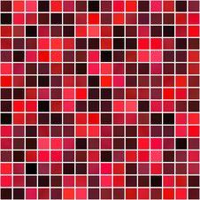 Free Red Squares Pattern Royalty Free Stock Image - 9689196