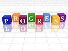 Free Colour Progress Royalty Free Stock Image - 9689446