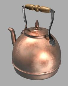 Free Kettle, Metal, Small Appliance, Copper Stock Photos - 96801143