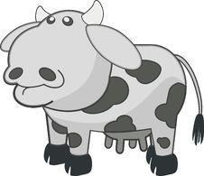 Free White, Black, Cartoon, Cattle Like Mammal Royalty Free Stock Photos - 96812108