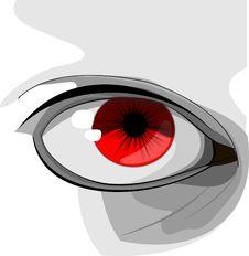 Free Red, Eye, Flower, Eyelash Stock Image - 96815391