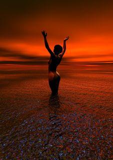 Free Sunrise, Sea, Sun, Horizon Royalty Free Stock Images - 96816839