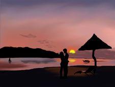 Free Sky, Sunrise, Sunset, Sea Stock Images - 96876134
