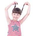 Free Cute Blue-eyed Girl Posing Stock Photo - 9690320