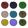 Free Snails And Spirals Royalty Free Stock Photos - 9694608