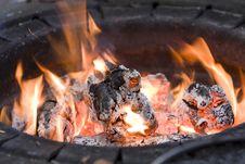 Free Fire Hearth Stock Photos - 9691173