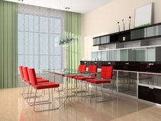 Free Modern Interior Royalty Free Stock Images - 9691249