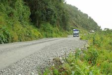 Free Road In Yungas, Bolivia Royalty Free Stock Photography - 9691637