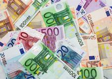 Free Euro Cash Background Stock Photo - 9691810