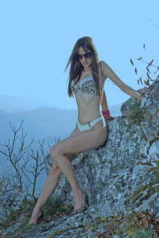 Free Bikini Girl Royalty Free Stock Images - 9691949