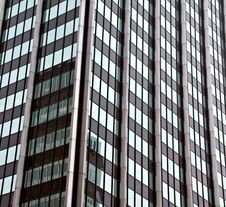 Free Reflection In Glass Building Royalty Free Stock Photos - 9692048
