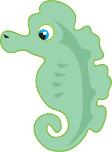 Free Sea Horse Stock Image - 9692161