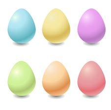 Free Easter Eggs Royalty Free Stock Photo - 9692545