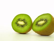 Free Two Sliced Kiwis Royalty Free Stock Photo - 9692825