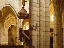 Free The Church Of Covarrubias, Burgos, Spain Stock Images - 9693354