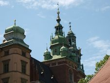 Free Wawel Hill Wawel Castel Krakow Royalty Free Stock Image - 9693696