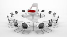 Free Conference Table Stock Photo - 9693970