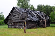 Free Old Farmstead House Stock Photography - 9694732