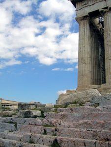 Free Parthenon Of Athens Stock Images - 9694944