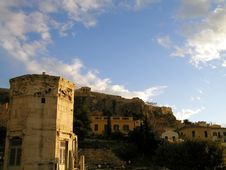 Free Acropolis Of Athens Royalty Free Stock Image - 9694996