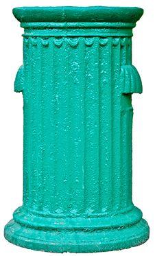 Trash Urn Royalty Free Stock Photo