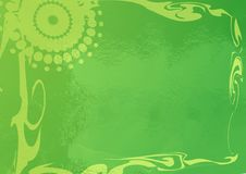 Free Shiny Green Swirls Royalty Free Stock Images - 9695469