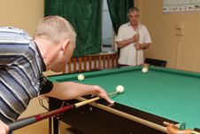 Free Billiards Game Stock Photos - 9696273
