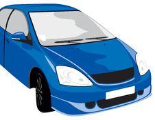 Free Blue Car Stock Photos - 9696423