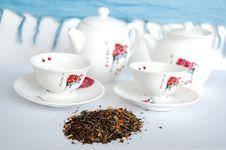 Free Green Tea Set Stock Images - 9697174
