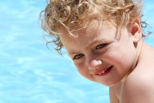 Free Child Swimming Stock Image - 9697731