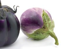 Free Eggplants Royalty Free Stock Images - 9698389