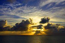 Free Miami Sunrise Royalty Free Stock Photos - 9698718