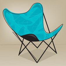 Free Butterfly Patio Chair Stock Photo - 9699970
