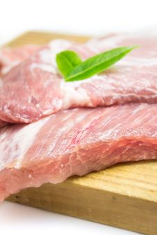 Free Meat, Red Meat, Bayonne Ham, Prosciutto Stock Image - 96918671