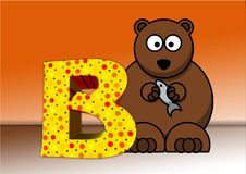 Free Font, Teddy Bear, Illustration, Carnivoran Royalty Free Stock Image - 96922456
