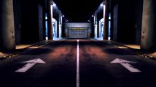 Free Road At Night Stock Photography - 96933132