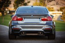 Free Silver Bmw Car Royalty Free Stock Images - 96933229