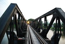 Free Part Of Dead Rail Way And Train Royalty Free Stock Image - 96933606