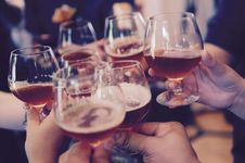 Free Toasting Cheers Stock Image - 96961451