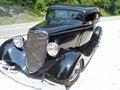 Free Antique Black Car Royalty Free Stock Photos - 975948
