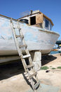 Free Boat In Dry Dock Royalty Free Stock Images - 979059