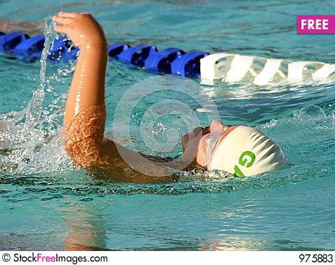Free Backstroke Swim Stock Photos - 975883