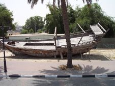 Free Old Wooden Dhow Royalty Free Stock Photo - 970175