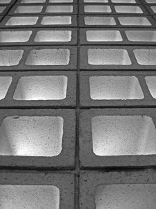 Hollow Bricks Stock Photography