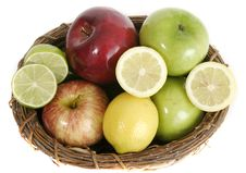 Free Fruit Basket 2 Royalty Free Stock Images - 970779