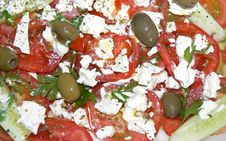 Tomato Salad 2 Royalty Free Stock Photography