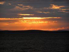 Free Early Morning Lake Champlain Sunrise Royalty Free Stock Image - 972666